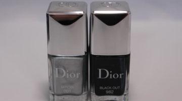 Dior Miroir och Black out